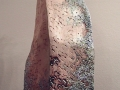 Coral Frites avec Patte (detail), Black Stoneware, 16 x 11 x 9 cm, 2004
